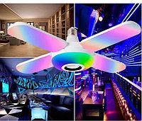 RGB Dimmable Bluetooth музыкальная лампа складной современный потолочный свет - Белый