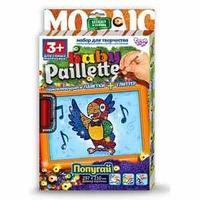 "Набор для творчества ""Мозаика из пайеток  ""Baby paillete Попугай"""