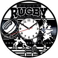 Настенные часы Rugby Регби, подарок регбисту, тренеру, фанатам, любителям, 2042