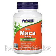 Now Foods Мака перуанская, адаптоген 750 мг. 90 капсул