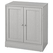 HAVSTA ХАВСТА Шкаф с цоколем, серый, 81x47x89 см