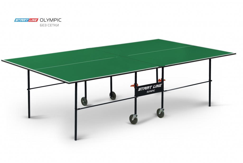 Теннисный стол Olympic зеленый