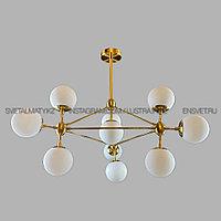 Люстра Лофт Молекула Бронзовая, фото 1