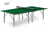 Теннисный стол Hobby 2 зеленый/черный