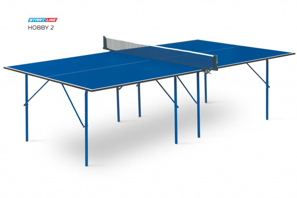 Теннисный стол Hobby 2 синий