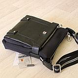 Мужская сумка через плечо, барсетка, фото 7