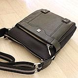 Мужская сумка через плечо, барсетка, фото 8