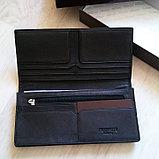 Мужская кожаная валютница(купюрница) PRENSITI, фото 4