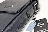 Мужская сумка/барсетка/планшетница через плечо MONTBLANC, фото 3