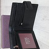 Мужское кожаное портмоне PETEK, фото 2