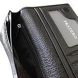 Мужская кожаная валютница, портмоне PRATERO™, фото 4