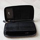 Мужская барсетка клатч из натуральной кожи МВ, фото 7
