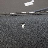 Мужская барсетка клатч из натуральной кожи МВ, фото 9