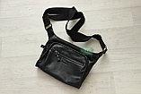Мужская сумка планшет Ягуар из натуральной кожи, фото 3