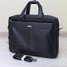 Мужской кожаный портфель, кейс, дипломат BRADFORD™