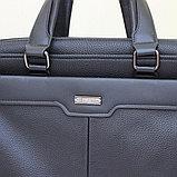 Мужской кожаный портфель, кейс, дипломат BRADFORD™, фото 2