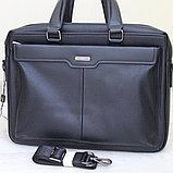 Мужской кожаный портфель, кейс, дипломат BRADFORD™, фото 3