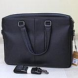 Мужской кожаный портфель, кейс, дипломат BRADFORD™, фото 4