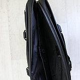 Мужской кожаный портфель, кейс, дипломат BRADFORD™, фото 5