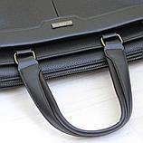 Мужской кожаный портфель, кейс, дипломат BRADFORD™, фото 6