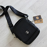 Мужская кожаная сумка барсетка BRADFORD, фото 8