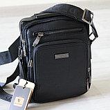 Мужская кожаная сумка барсетка BRADFORD, фото 2