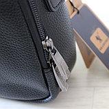 Мужская кожаная сумка барсетка BRADFORD, фото 4
