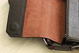 Мужская кожаная сумка барсетка BRADFORD, фото 9
