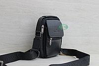Мужская кожаная сумка барсетка BRADFORD