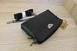 Мужская кожаная сумка барсетка BRADFORD, фото 3