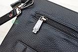 Мужская кожаная сумка барсетка BRADFORD, фото 10