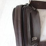 Мужская барсетка BRADFORD, коричневый, фото 4