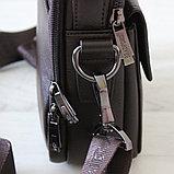 Мужская барсетка BRADFORD, коричневый, фото 5