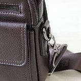 Мужская барсетка BRADFORD, коричневый, фото 8