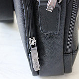Мужская барсетка, сумка через плечо из кожи Bradford™, фото 5
