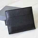 Мужское портмоне Brioni из натуральной кожи, фото 4