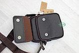 Мужская барсетка, сумка через плечо Bradford™, фото 6