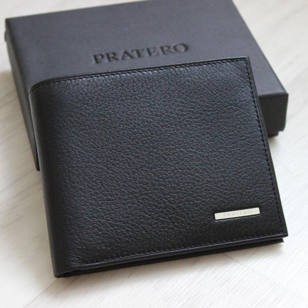 Мужское кожаное портмоне с зажимом для купюр Pratero™