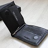 Мужское кожаное портмоне с зажимом для купюр Pratero™, фото 4