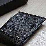 Мужское кожаное портмоне с зажимом для купюр Pratero™, фото 5