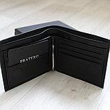Мужское кожаное портмоне с зажимом для купюр Pratero™, фото 6