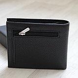 Мужское кожаное портмоне с зажимом для купюр Pratero™, фото 8