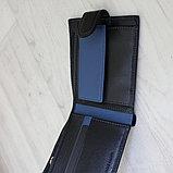 Мужское портмоне натуральная кожа Baretti, фото 3