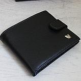 Мужское портмоне натуральная кожа Baretti, фото 9