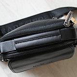 Мужская Барсетка сумка через плечо BRADFORD, фото 4