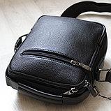 Мужская Барсетка сумка через плечо BRADFORD, фото 9