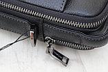 Мужская барсетка, сумка через плечо из натуральной кожи HT™, фото 4