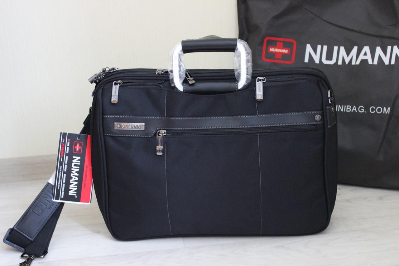 Мужской деловой портфель, сумка для ноутбука и документов
