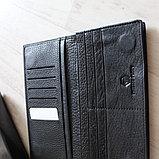 Мужское портмоне из натуральной кожи, фото 7