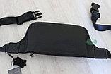 Мужская барсетка, кобура, поясная сумка, бананка из натуральной кожи HT Leather, фото 3